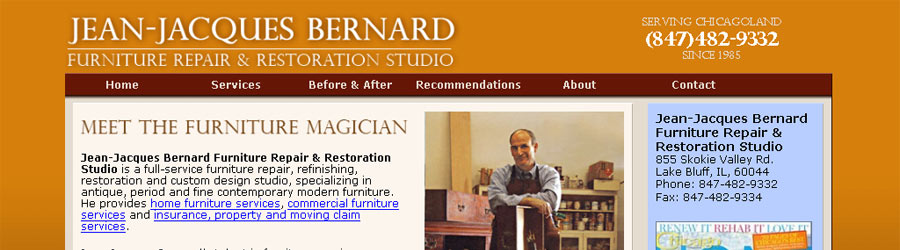 Jean Jacques Bernard Furniture Studio